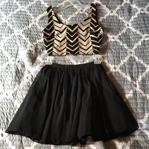 Two Piece Homecoming Dress!!